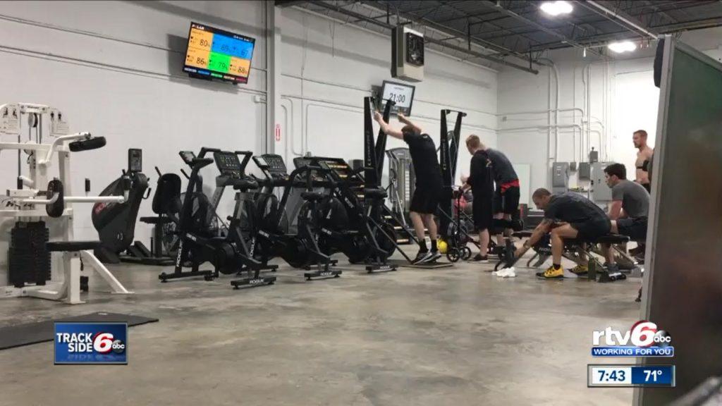 Video: WRTV6 Tony Kanaan And Scott Dixon At Pitfit Training